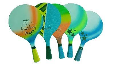 עדכני מטקות של חברת טינג דונג בעבודת יד: איכותיות וצבעוניות. כמה תשלמו EQ-07