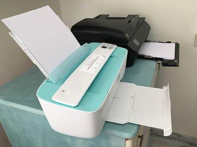 מדפסת HP קטנה