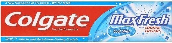 colgate max fresh cool mint toothbrush 100ml copy