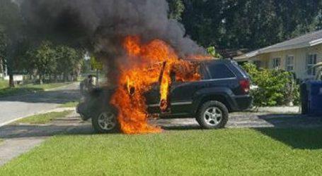 התלקחות נוט 7: ג'יפ נשרף, אדם שנכווה תובע את סמסונג