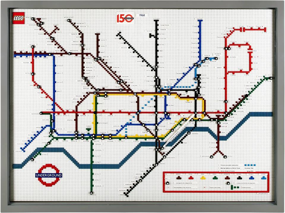 lego tube map