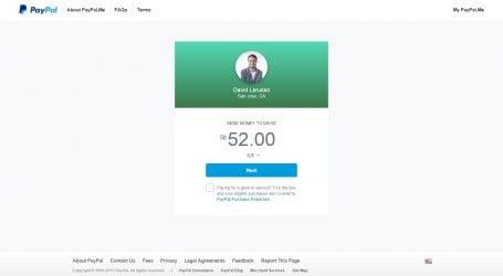 שירות חדש של פייפאל: לשלם לבעל מקצוע באמצעות שליחת הודעה