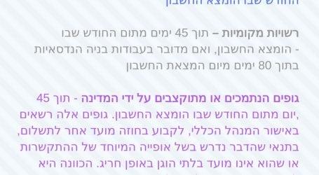 סופית: משרדי ממשלה ישלמו לספקים לכל היותר בשוטף + 45