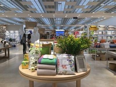 חנות זארה הום (ZARA HOME) בקניון האופנה גינדי TLV
