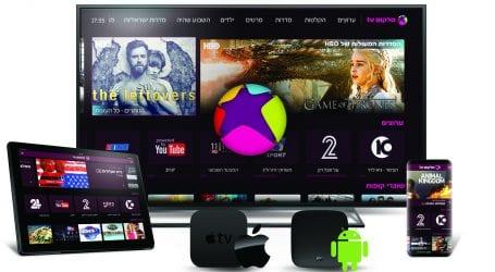 סלקום TV משתדרגת: מציעה שירות הקלטה 24/7 ואת שירות ווליום באפל TV