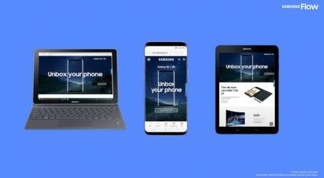 סמסונג Flow: אפליקציה שמחברת בין הטאבלט, המחשב והסמארטפון של סמסונג