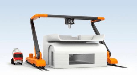 הדפסת בתים בתלת ממד