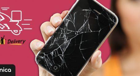 תיקון מסך סמארטפון תוך 3 שעות עם שליח עד הבית, קנייה תוך שעה: דינמיקה משתפת פעולה עם Gett Delivery