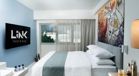 גרפיטי בחדר וחלל עבודה בלובי: מה מציע מלון לינק (LINK hotel & hub) של רשת דן?