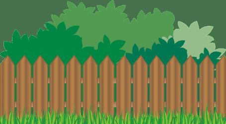 תוחמים בין המרחב הפרטי לציבורי עם גדר מעץ