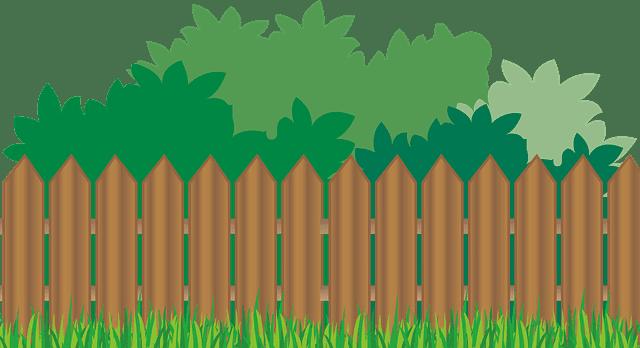 בניית גדר מעץ