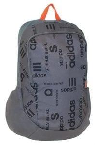 תיק אדידס אפור עם כיתוב - כ-200 שקל בטויס אר אס