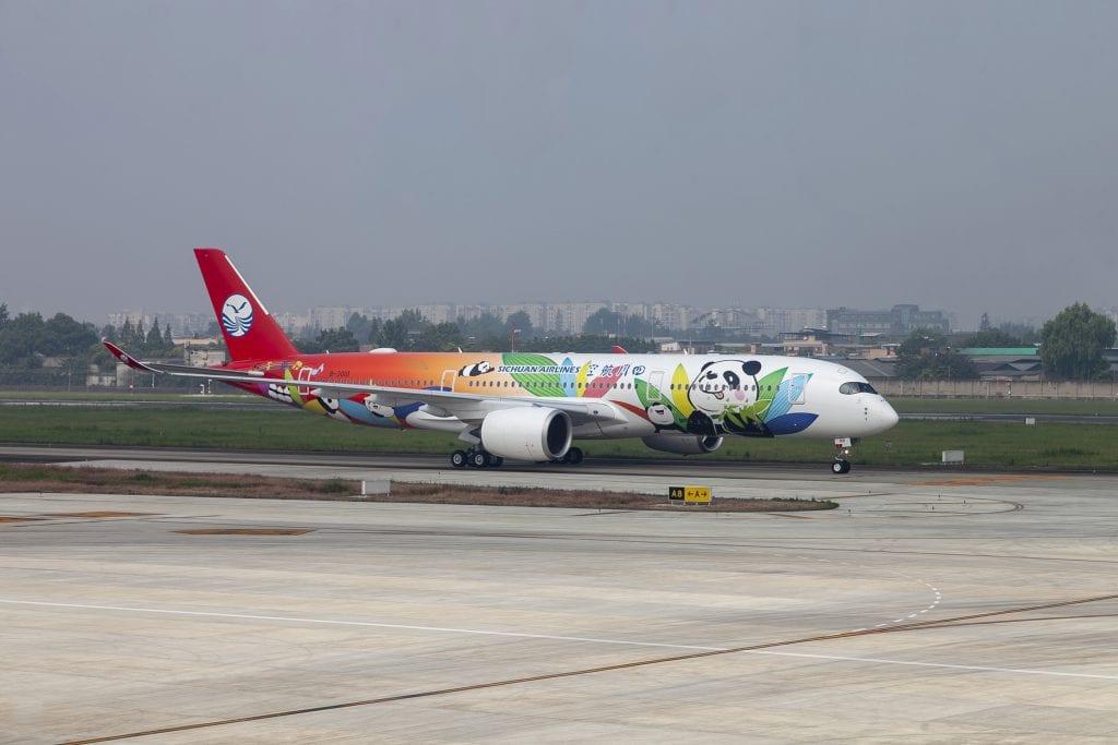 טיסות לסין של סיצ'ואן איירליינס