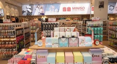 מיניסו (Miniso) פתחה סניף ראשון: מ-5 עד 150 שקל עבור מגוון פריטים