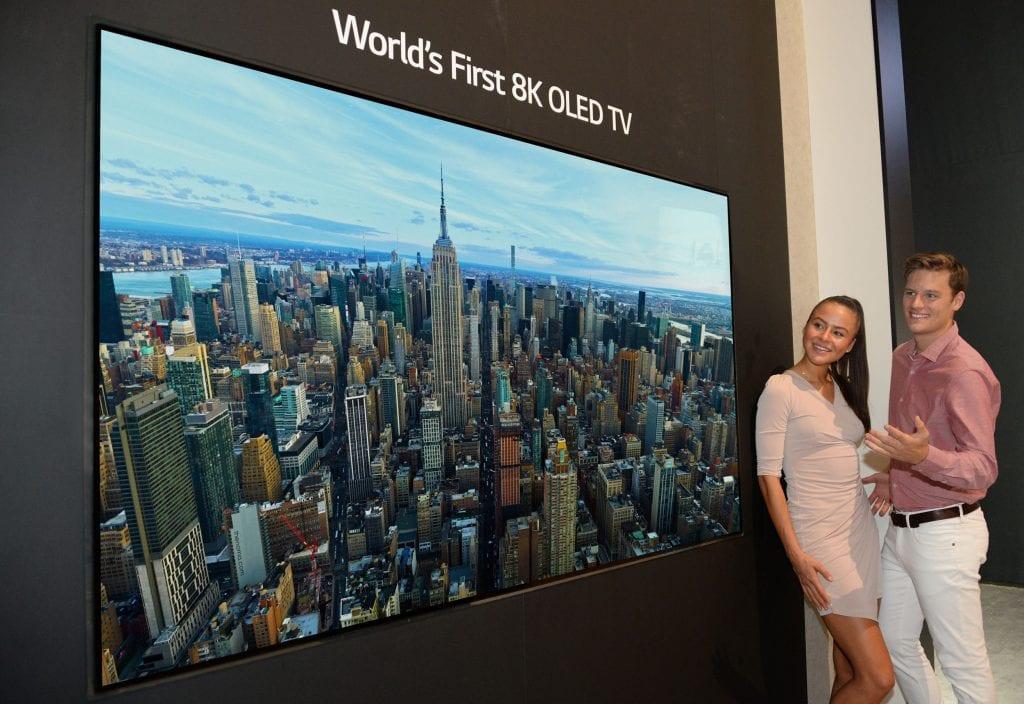 טלוויזיית OLED 8K שך LG