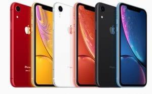 אייפון XR צבעוני