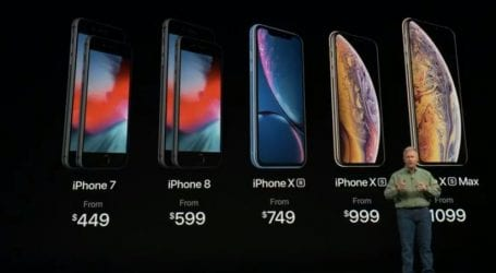 אפל השיקה את האייפונים החדשים: אייפון Xs, אייפון Xs Max ואייפון XR
