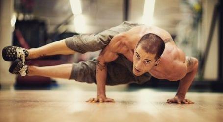 ניסינו: אימון כושר כנגד משקל הגוף אצל סתיו בסן