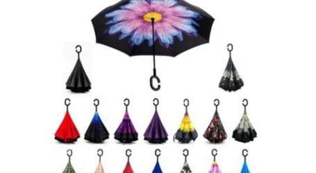מטריה מתהפכת במחיר שווה במיוחד