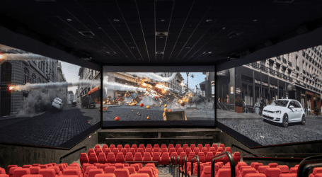 יס פלאנט משיקה את Screen X: לראות סרט ב-270 מעלות