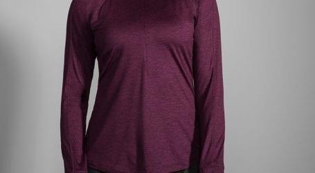 ברוקס DASH 1/2 ZIP: חולצת אימון בעיצוב מיוחד שמתאים למזג האוויר הישראלי