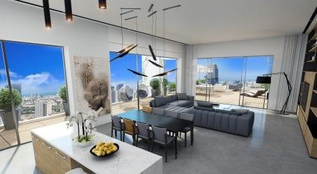 הפרויקט שמשקיף על קו הנוף של תל אביב