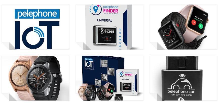 מיוחדים פלאפון תשווק שעונים חכמים עם eSIM, שירות WiFi מורחב ברכב ומכשירי AR-01