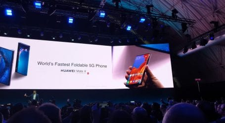 וואווי משיקה את הסמארטפון המתקפל הראשון שלה: Huawei Mate X