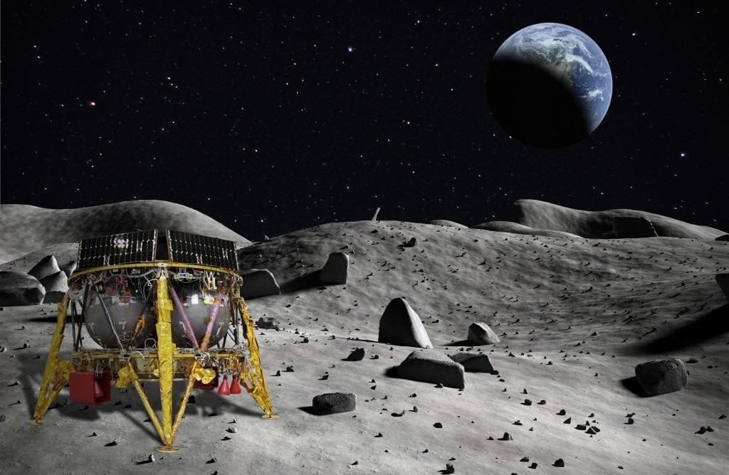 החללית הישראלית על הירח