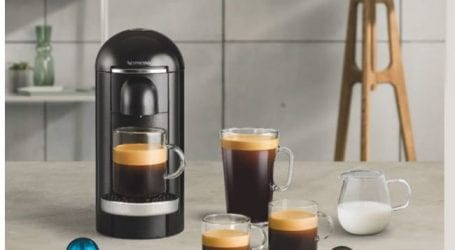 מכונת קפה נספרסו Vertuo Plus במחיר מעולה + קפסולות