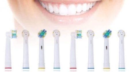 ערכת 8 ראשים תואמים למברשת שיניים חשמלית של Oral-B ב-59 ₪
