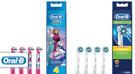 8 ראשים למברשת שיניים אורל בי במחיר מעולה