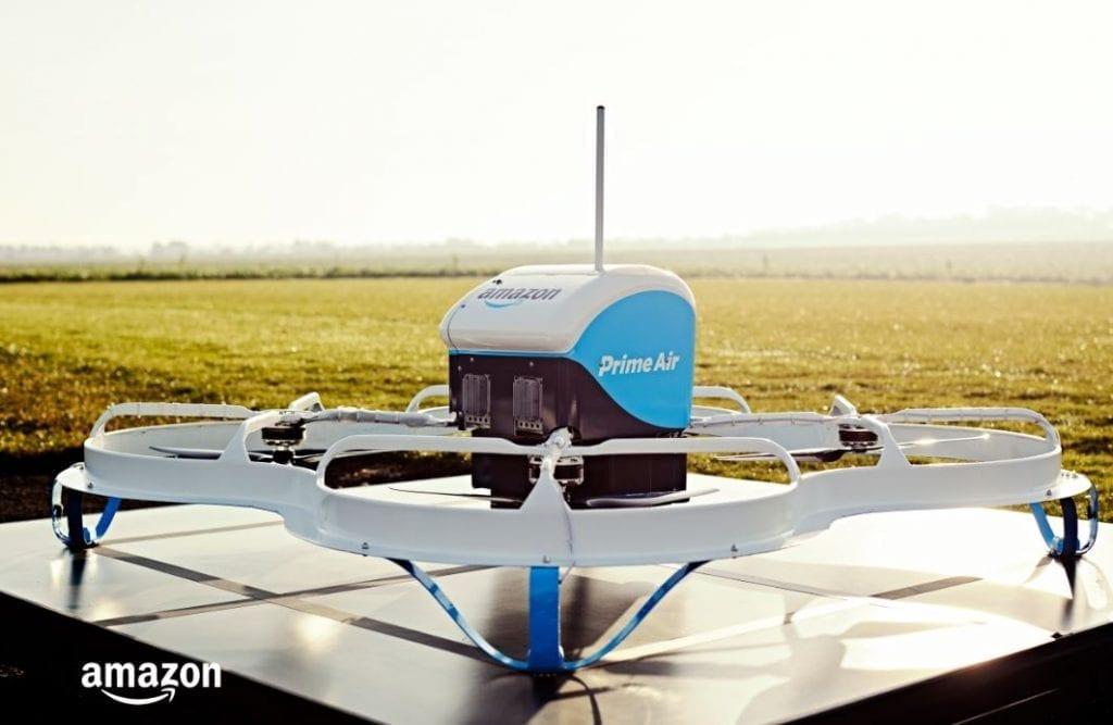 אמזון Prime Air - משלוח עם רחפן. כך זה נראה