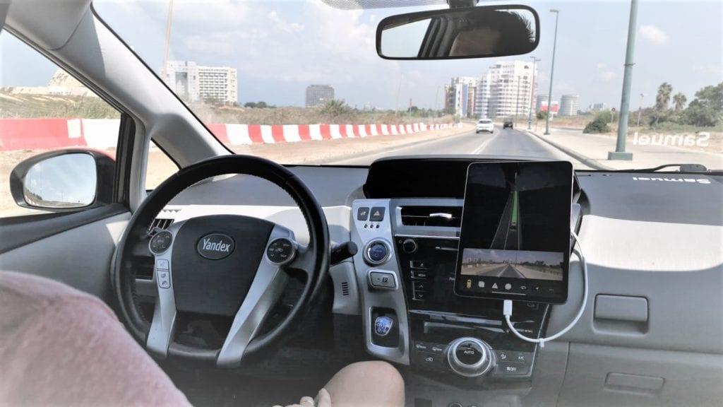 רכב אוטונומי של יאנדקס yandex aotonomous car
