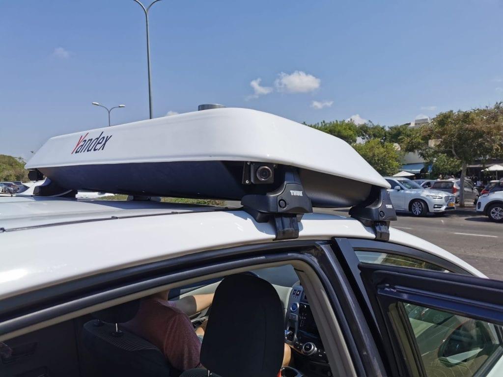 רכב אוטונומי של יאנדקס yandex