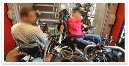 אופניים רכבת ישראל