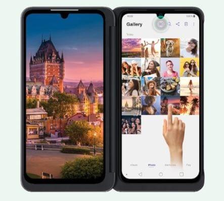 LG G8X סמארטפון מתקפל