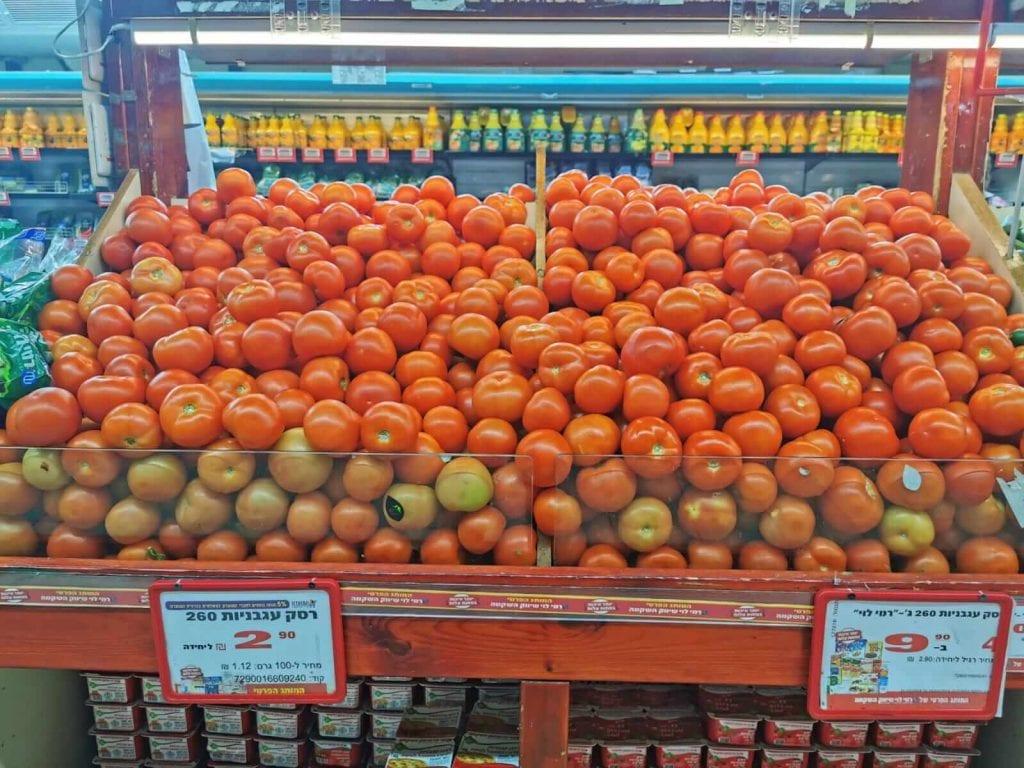 עגבניות מתורכיה