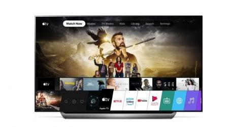 עכשיו – שירות אפל TV פלוס ואפל TV בטלוויזות LG