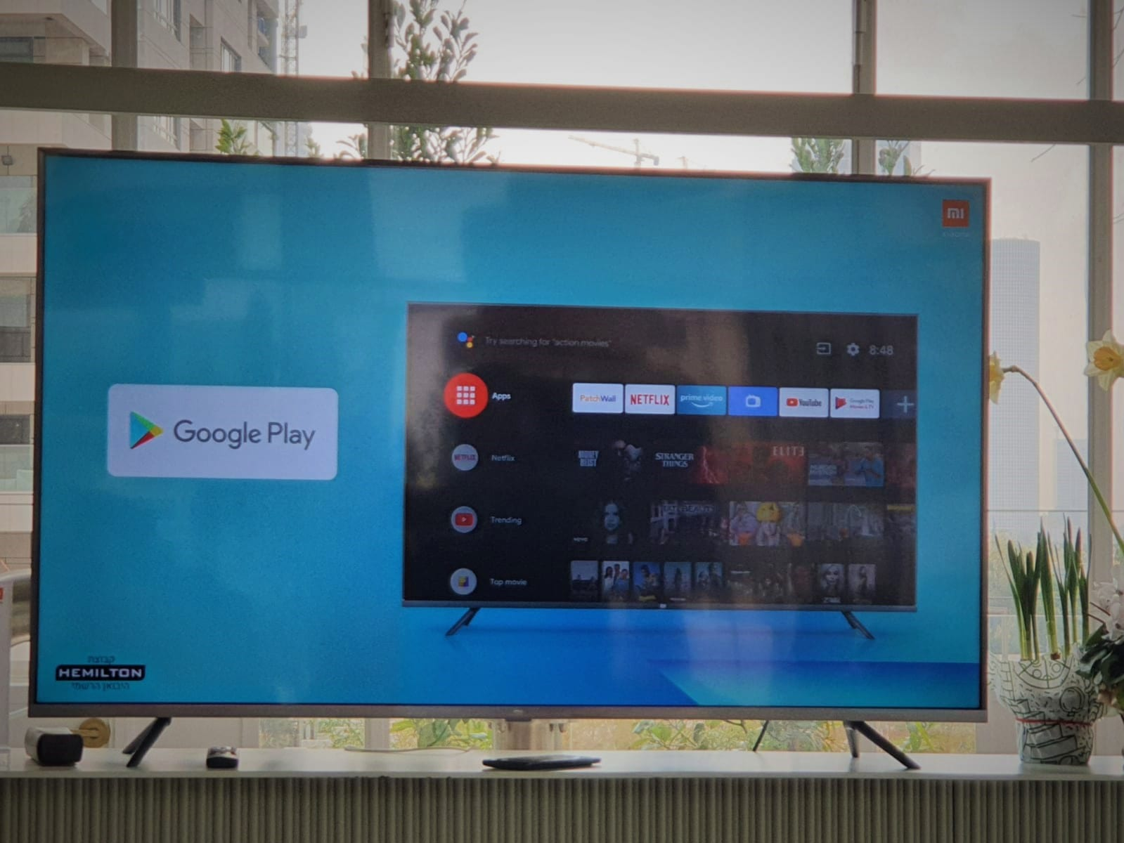 מערכת הפעלה אנדרואיד 9 בטלוויזיות שיאומי. צילום: דפנה הראל כפיר