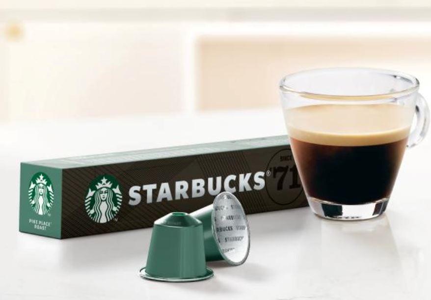 קפסולות קפה סטארבאקס מגיעות לישראל