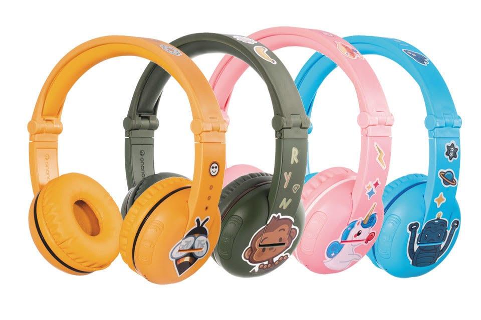 אוזניות לילדים BuddyPhones