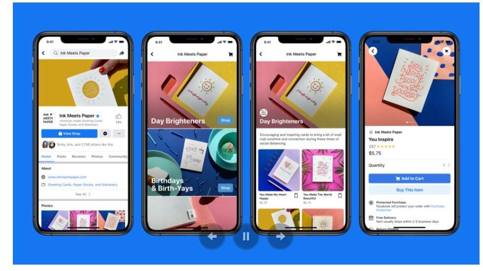 תחרות לאמזון: פייסבוק שופס עלה לאוויר ומאפשר לקנות ישירות מעסקים