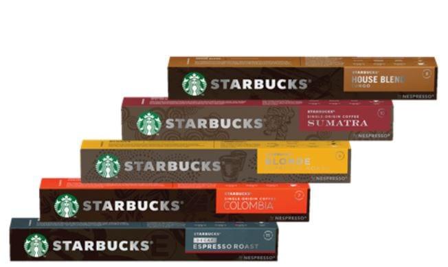 קפסולות קפה סטארבאקס