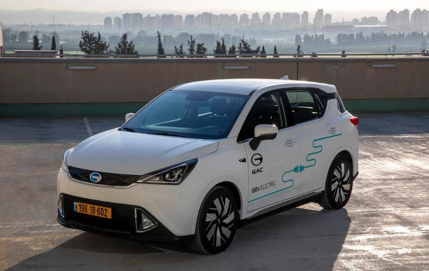 רכב חשמלי GAC