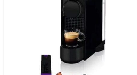 מכונת קפה נספרסו במבצע Nespresso Essenza מיני + קפסולות
