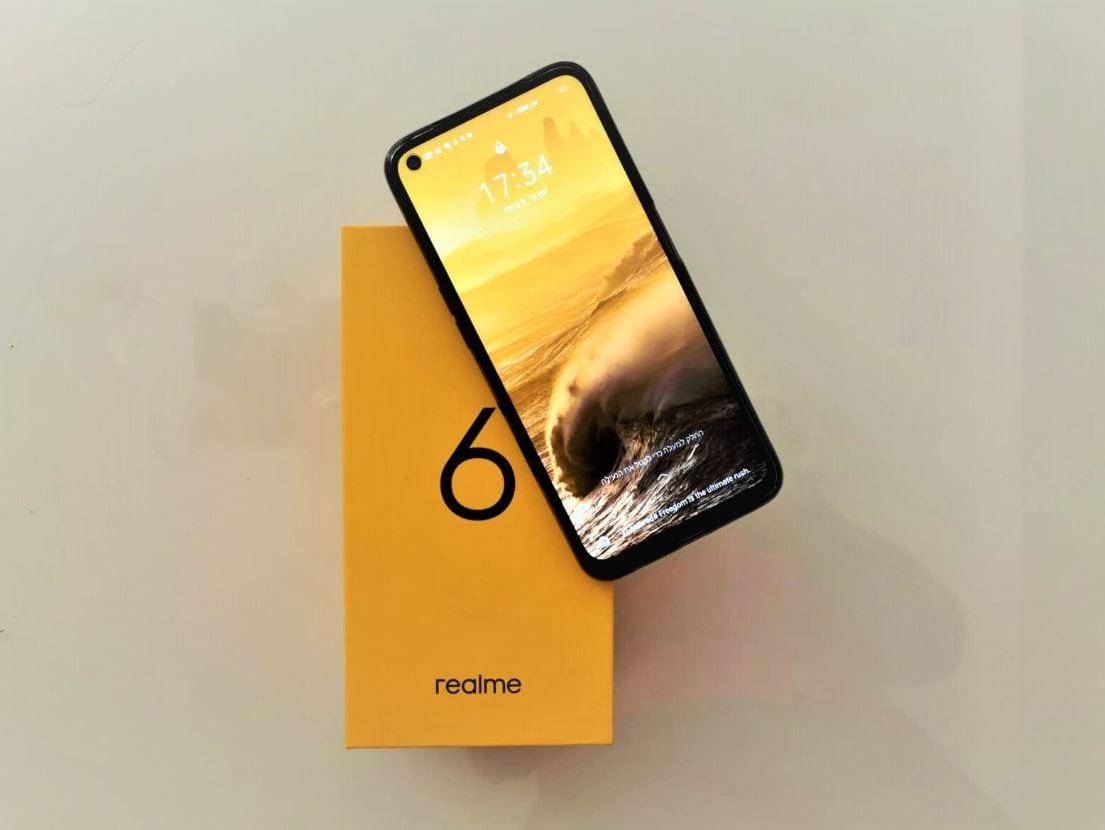 רילמי 6: סמארטפון זול עם תכונות מתקדמות. היכנסו לסקירת פואנטה