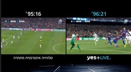 לראות משחק כדורגל בלי דיליי: yes משיקה את שירות יס פלוס לייב