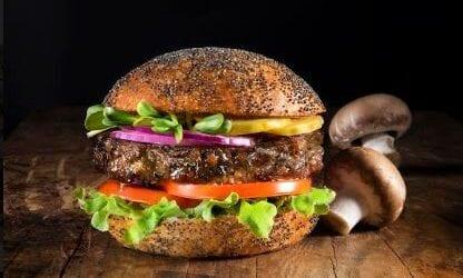 תחליף בשר מפתיע: המבורגר פטריות של מרינה