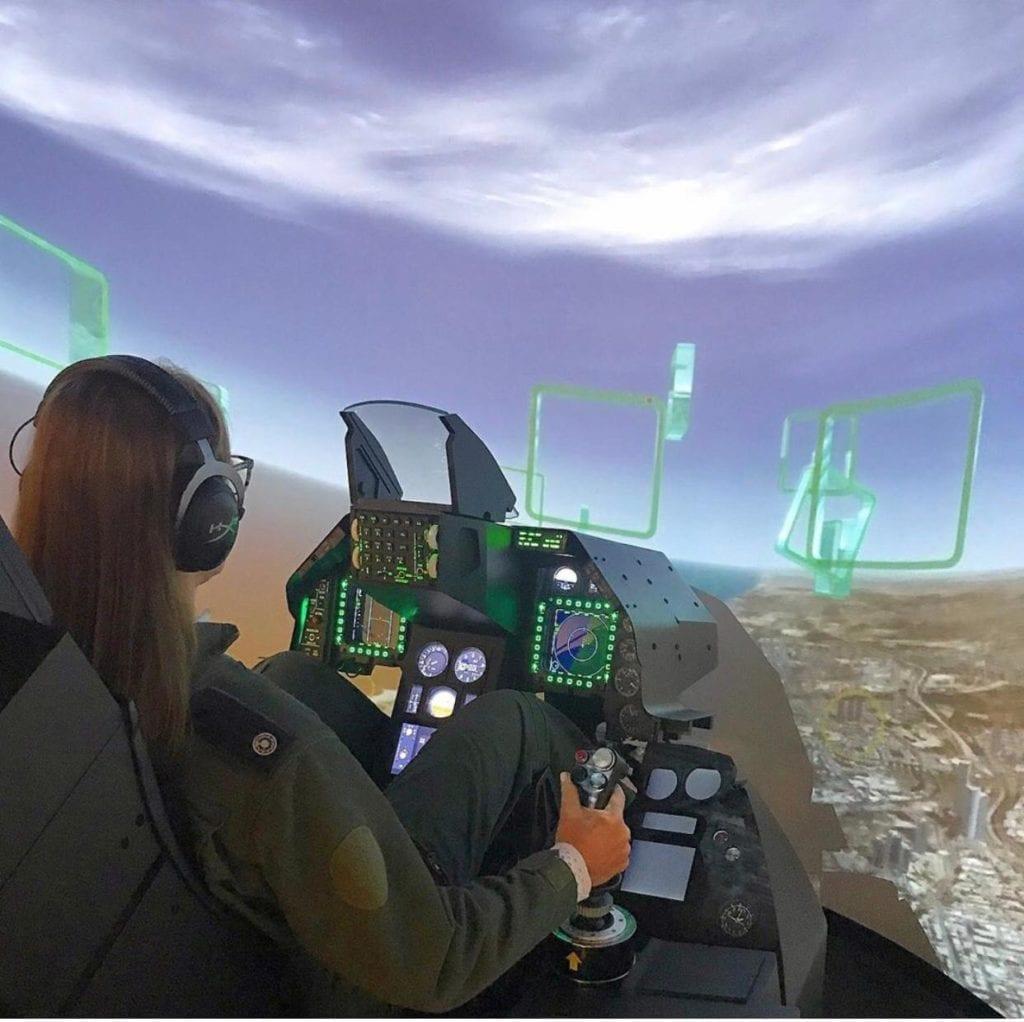 קורס טיסה קרבית של הטייסת